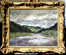 Study for View Across Glen Almond Towards the Sma' Glen