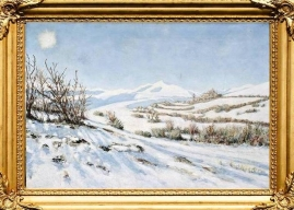 'Winter, The Four Seasons' - Santo Stefano di Sessanio, Italy