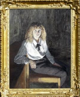 Portrait of Lady Frances