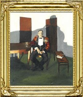 Portrait of Col. W.H.J. Sale OBE, MC.