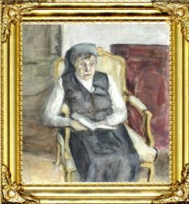 Portrait of Mother Teresa