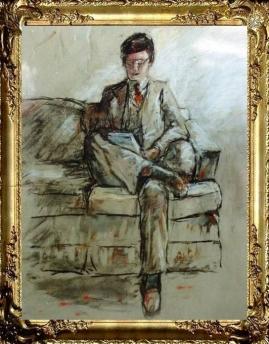 Study for Portrait of Chuck Bulger