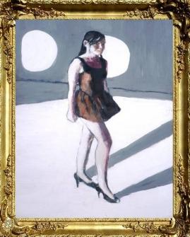Standing Portrait of Jaqueline