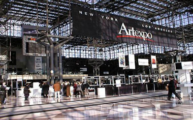 The Jacob Javetts Centre in New York – Venue for the Artexpo Exhibition.