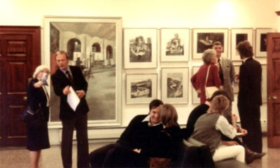 Charles's first one-man exhibition held at Blackheath in London